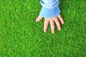 דשא סינטטי בחלל הפנים