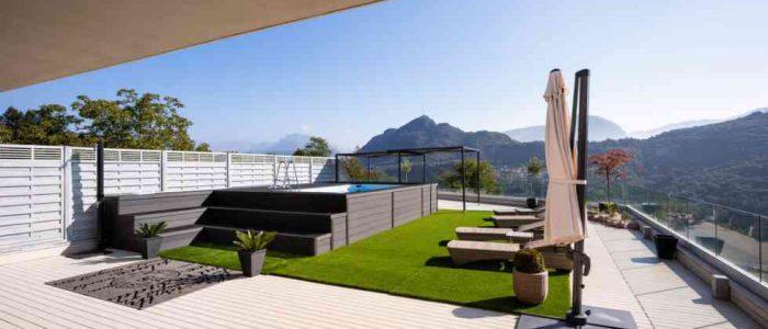 דשא סינטטי למרפסת